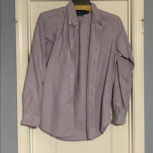 Purple Ralph Lauren button down